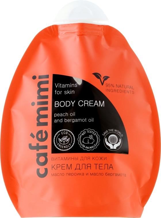 """Cremă de corp """"Vitamine pentru piele"""" - Le Cafe de Beaute Cafe mimi — Imagine N3"""