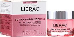 Parfumuri și produse cosmetice Cremă de noapte pentru față - Lierac Supra Radiance Creme Renovatrice Detox Nuit