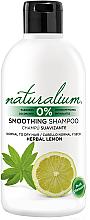 Parfumuri și produse cosmetice Șampon - Naturalium Herbal Lemon Smoothing Shampoo