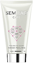 Parfumuri și produse cosmetice Peeling pentru mâini - Semilac Care Hand Peeling