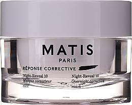 Parfumuri și produse cosmetice Mască intens hidratantă de față - Matis Reponse Corrective Night Reveal 10 Overnight Corrective Mask
