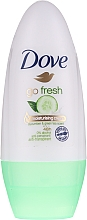 Parfumuri și produse cosmetice Deodorant roll-on - Dove Go Fresh Cucumber & Green Tea Deodorant 48H