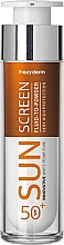 Parfumuri și produse cosmetice Fluid protecție solară pentru față - Frezyderm Sun Screen Vitamin D Like Skin Benefits Fluid to Powder SPF50+