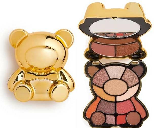 Paletă farduri de ochi - I Heart Revolution Teddy Bear Palette Honey — Imagine N1