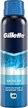 Parfumuri și produse cosmetice Deodorant antiperspirant spray - Gillette Arctic Ice Antiperpirant Spray