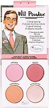 Parfumuri și produse cosmetice Paletă fard de obraz - theBalm Will Powder Blush Quad (tester)