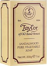 "Săpun ""Lemn de santal"" - Taylor of Old Bond Street Sandalwood Soap — Imagine N1"