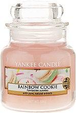 Parfumuri și produse cosmetice Lumânare parfumată, în borcan de sticlă - Yankee Candle Rainbow Cookie