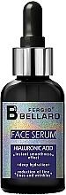 Parfumuri și produse cosmetice Ser facial cu acid hialuronic - Fergio Bellaro Face Serum Hyaluronic Acid