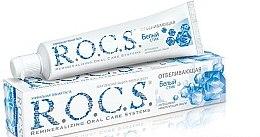 """Parfumuri și produse cosmetice Pastă de dinți """"Albire"""" - R.O.C.S."""