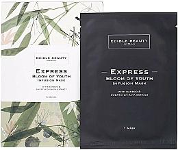 Parfumuri și produse cosmetice Mască de față - Edible Beauty Bloom of Youth Infusion Mask 5-Pack