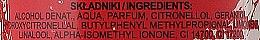 "Spray de corp ""Căpșuni și Hibiscus"" - Bi-Es Strawberry-Hibiscus — Imagine N3"