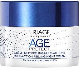 Parfumuri și produse cosmetice Cremă-Peeling de noapte - Uriage Age Protect Multi-Action Peeling Night Cream