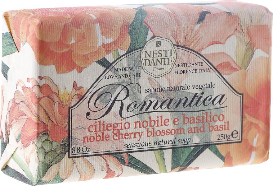 Săpun cu vișine și busuioc - Nesti Dante Romantica Soap — Imagine N1