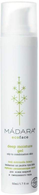 Jeleu de hidratare profundă pentru față - Madara Cosmetics Deep Moisture Gel — Imagine N1