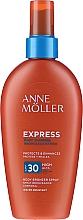 Parfumuri și produse cosmetice Spray de protecție solară pentru accelerarea bronzului - Anne Moller Express Body Bronzer Spray SPF30