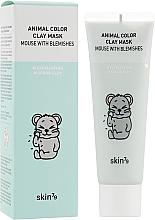 Parfumuri și produse cosmetice Mască din argilă pentru față - Skin79 Animal Color Clay Mask Mouse With Blemishes