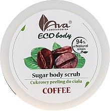 "Parfumuri și produse cosmetice Scrub pentru corp ""Cafea"" - Ava Laboratorium Eco Body Natural Sugar Scrub Coffee"