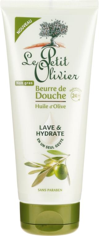 "Ulei de duș ""Ulei de măsline"" - Le Petit Olivier Shower Butter Olive Oil — Imagine N1"