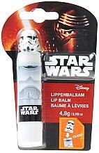 Parfumuri și produse cosmetice Balsam de buze, pentru copii, alb - EP Line 3D Star Wars