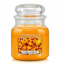 Parfumuri și produse cosmetice Lumânăre aromată - Country Candle Pumpkin Harvest