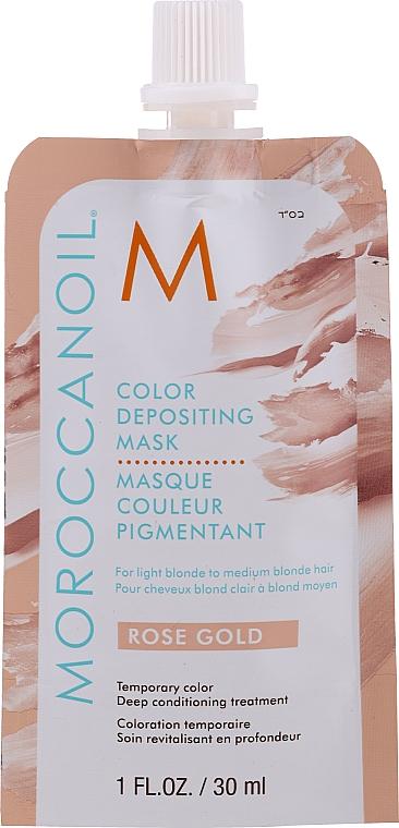 Mască tonifiantă pentru păr, 30 ml - MoroccanOil Color Depositing Mask