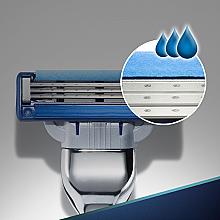 Casete de rezervă pentru aparat de ras - Gillette Mach3 Turbo — Imagine N4