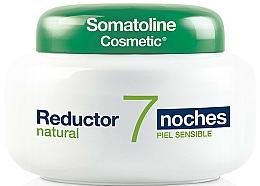 Parfumuri și produse cosmetice Cremă intensivă de noapte cu efect de sculptură rapidă - Somatoline Cosmetic Reducer 7 Nights Natural
