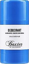 Parfumuri și produse cosmetice Deodorant - Baxter of California Deo Citrus Herbal