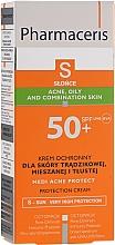 Parfumuri și produse cosmetice Cremă de protecție solară pentru ten acneic - Pharmaceris S Medi Acne Protect Cream SPF50