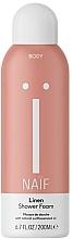 Parfumuri și produse cosmetice Spumă de baie - Naif Linen Shower Foam