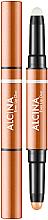 Parfumuri și produse cosmetice Balsam-primer 2 în 1 pentru buze - Alcina Beauty To Go Even Lip Duo