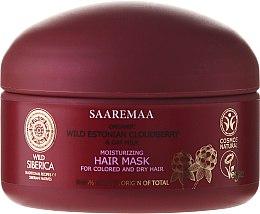 Mască hidratantă pentru păr - Natura Siberica Wild Siberica Saarema Moisturizing Mask — Imagine N2