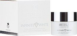 Parfumuri și produse cosmetice Cremă de față - Herla Infinite White Total Spectrum Moisturizing Night Therapy Whitening Cream