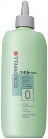 Ondulare chimică pentru păr dur - Goldwell Topform 0 — Imagine N1