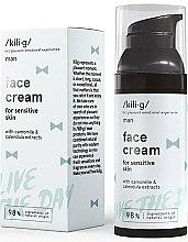 Parfumuri și produse cosmetice Cremă hidratantă de față - Kili·g Man Day Cream