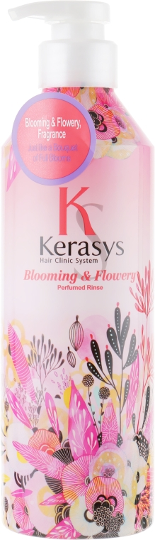 """Balsam de păr """"Fleur"""" - KeraSys Blooming & Flowery Perfumed"""