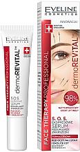 Parfumuri și produse cosmetice Ser anti-rid pentru față - Eveline Cosmetics Therapy Professional SOS DermoRevital