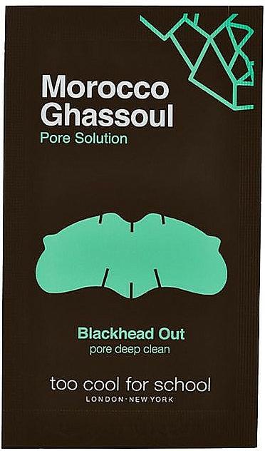 Benzi de curățare pentru nas - Too Cool For School Morocco Ghassoul Blackhead Out