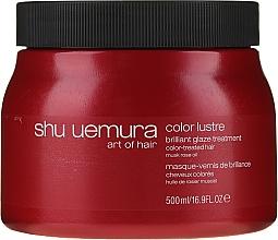 Parfumuri și produse cosmetice Mască pentru păr vopsit - Shu Uemura Art Of Hair Color Lustre Treatment