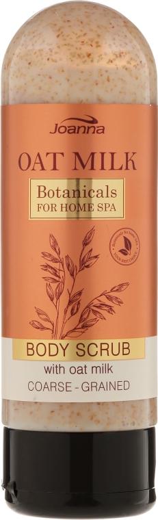 Scrub de corp cu lapte de ovăz - Joanna Botanicals For Home Spa Body Scrub