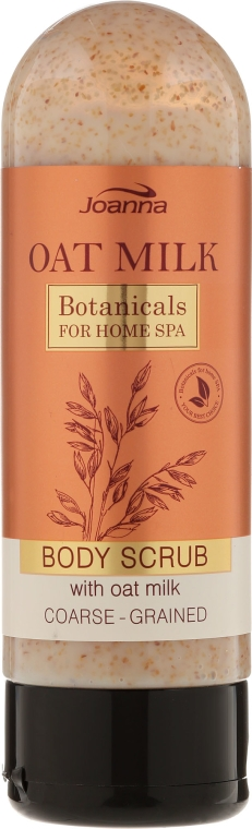 Scrub de corp cu lapte de ovăz - Joanna Botanicals For Home Spa Body Scrub — Imagine N1