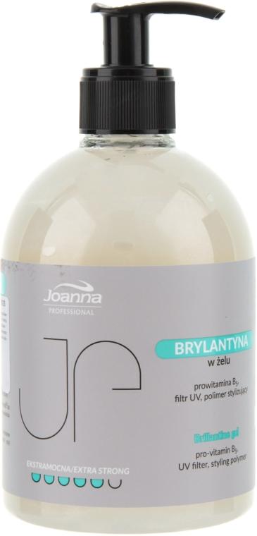 Gel de păr stralucitor cu fixare puternică - Joanna Professiona Brillantine Gel — Imagine N1