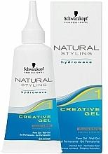 Parfumuri și produse cosmetice Gel creativ pentru rădacinile părului ondulat - Schwarzkopf Professional Natural Styling Creative Gel №1