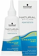 Gel creativ pentru rădacinile părului ondulat - Schwarzkopf Professional Natural Styling Creative Gel №1 — Imagine N1