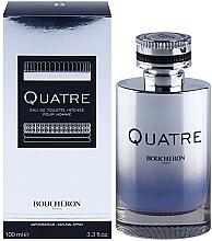 Parfumuri și produse cosmetice Boucheron Quatre Boucheron Intense Pour Homme - Apă de toaletă