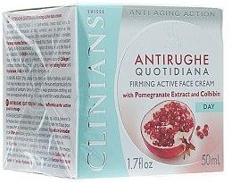 Parfumuri și produse cosmetice Cremă de zi împotriva primelor riduri - Clinians Melograno Cream