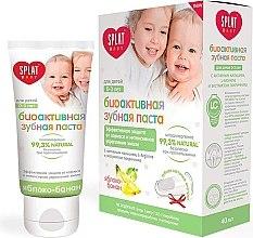 """Parfumuri și produse cosmetice Pastă de dinți pentru copii """"Măr și Banană"""", 0-3 ani - SPLAT Kids"""