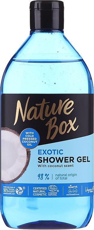 Gel de duș - Nature Box Coconut Shower Gel