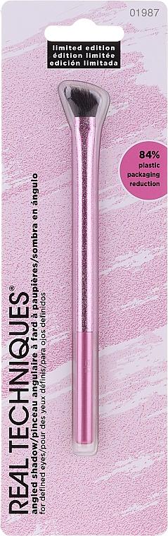 Pensulă pentru machiaj - Real Techniques Angled 22,74 Shadow, Limited Edition
